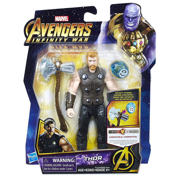 Thor with Infinity Stone Marvel Avengers Infinity War Action Figure