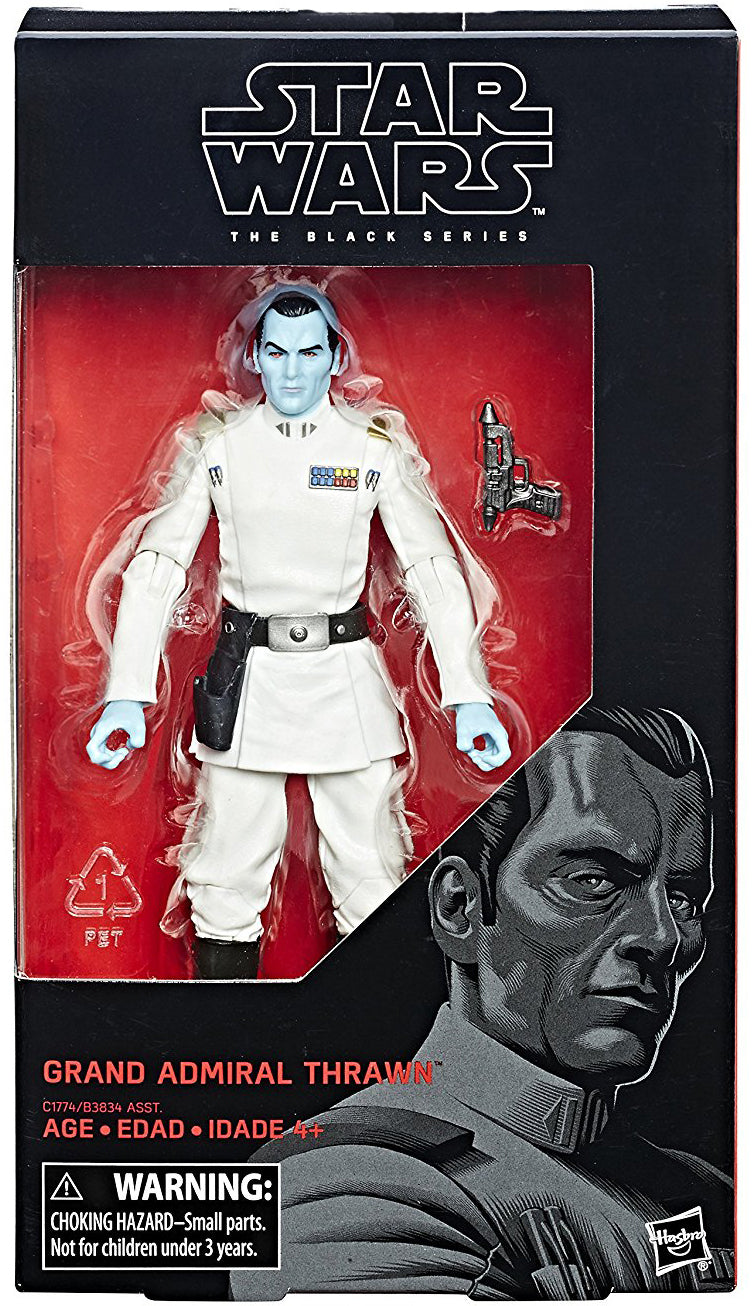 Grand Admiral Thrawn Star Wars Black Series 6 Inch Figure