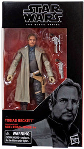 Tobias Beckett Black Series 6 Inch Solo A Star Wars Story Figure