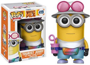 Tourist Jerry Funko Pop! Movies Despicable Me 3