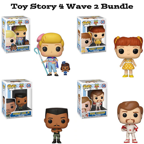 Toy Story 4 Funko Pop Disney Wave 2 Bundle