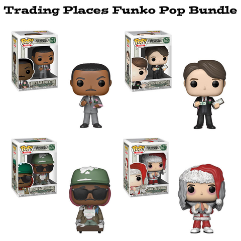 Trading Places Funko Pop Movies Bundle