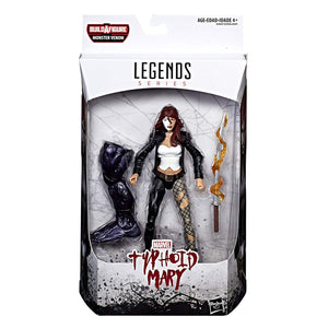 Typhoid Mary Marvel Legends Monster Venom Build-A-Figure Wave
