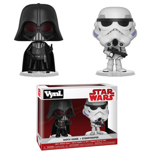 Darth Vader and Stormtrooper Funko VYNL 2-Pack