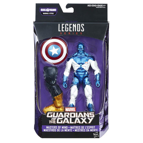 Vance Astro Guardians Of The Galaxy Marvel Legends 6-Inch Action Figure Titus Build-A-Figure Wave