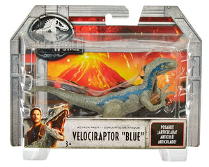 Velociraptor Blue Jurassic World Attack Pack Figure