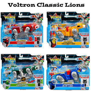 Voltron Classic Lions Set of 4