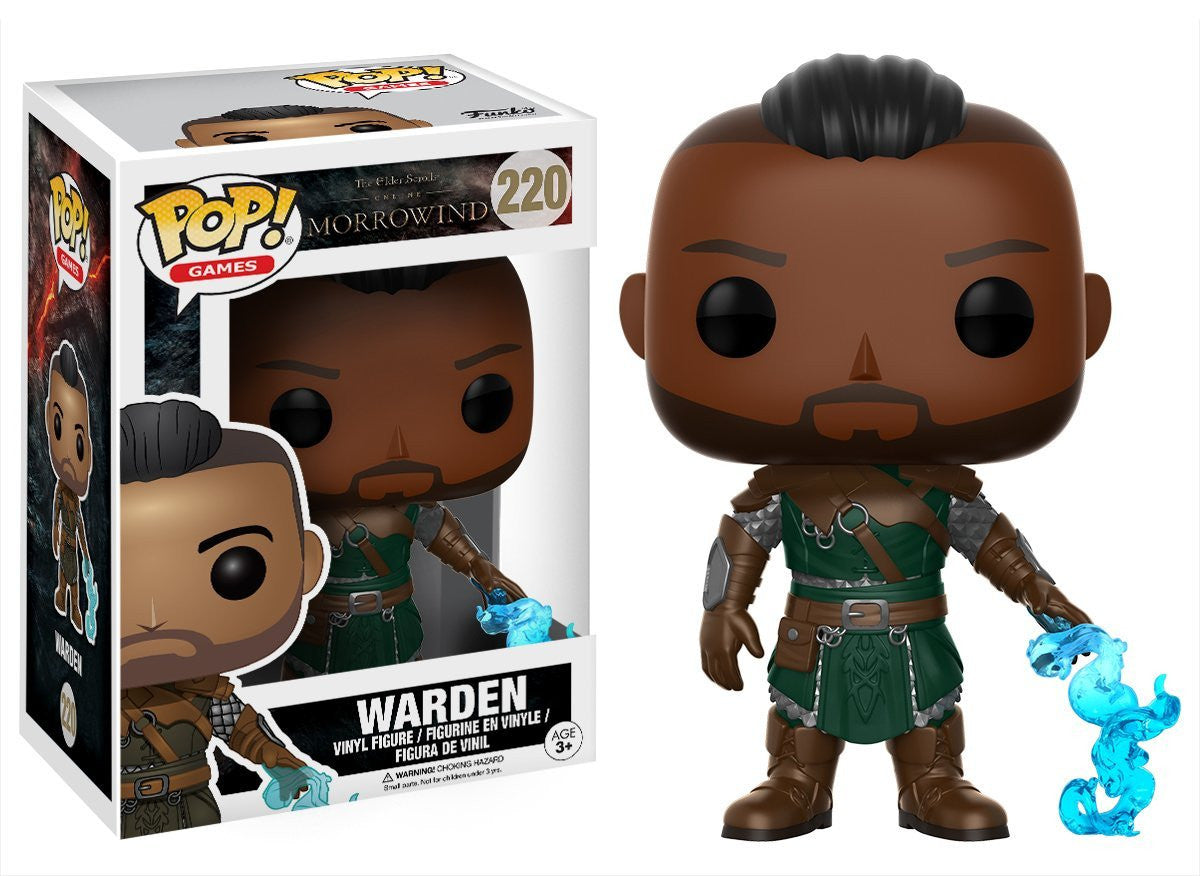 Warden Funko Pop! Games Elder Scrolls Online Morrowind