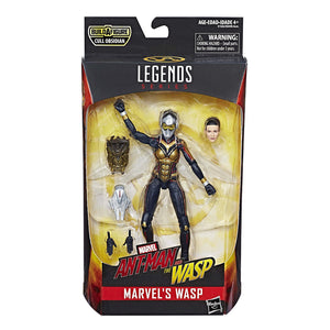 Wasp Marvel Legends 6-Inch Action Figure Cull Obsidian Wave