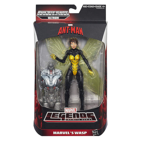 Wasp Marvel Legends 6-Inch Action Figure Ultron Build-A-Figure Wave