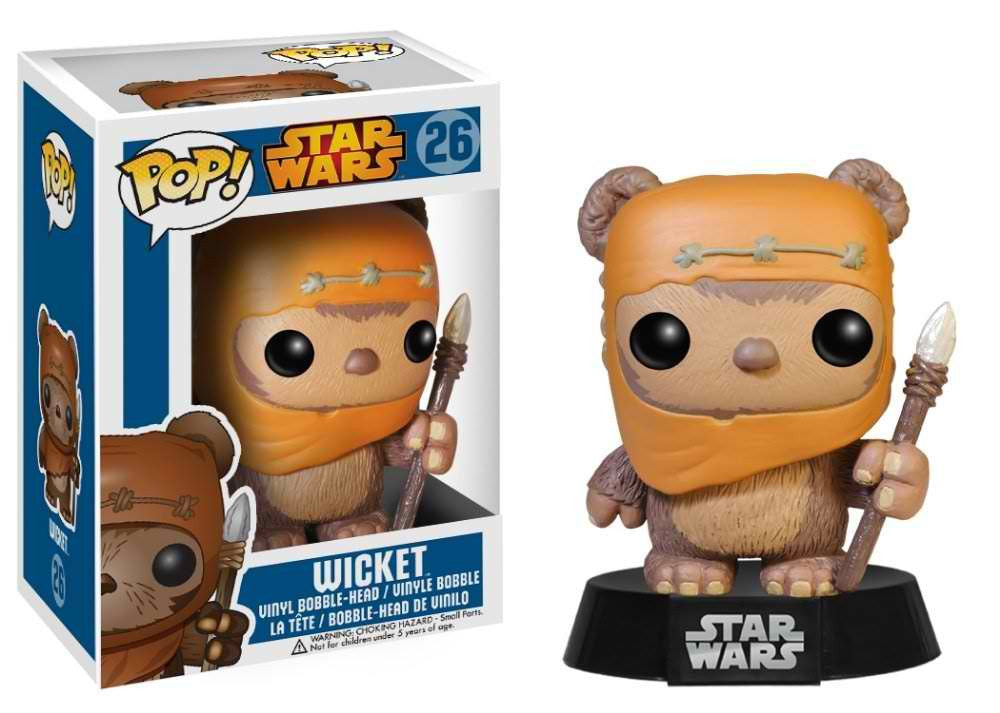 Wicket Star Wars Funko Pop! Vinyl Bobble-Head