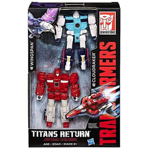 Wingspan & Cloudraker Transformers Generations Titans Return Legends Class Exclusive