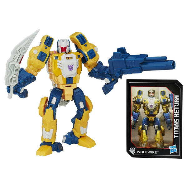 Wolfwire & Monxo Transformers Generations Titans Return Deluxe Class