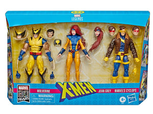 Wolverine, Jean Grey and Cyclops Marvel Legends 6-Inch Exclusive Action Figure 3-Pack