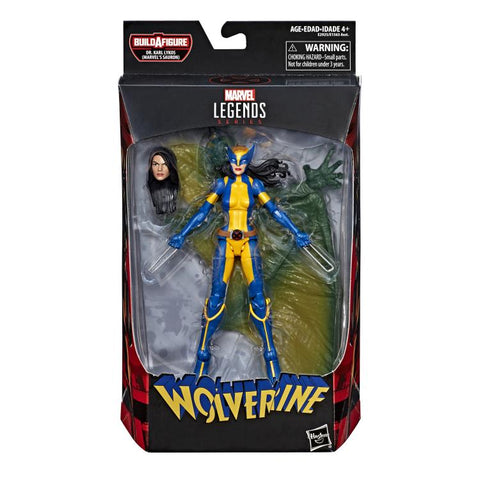 X-23 Wolverine Marvel Legends Sauron Build-A-Figure Wave