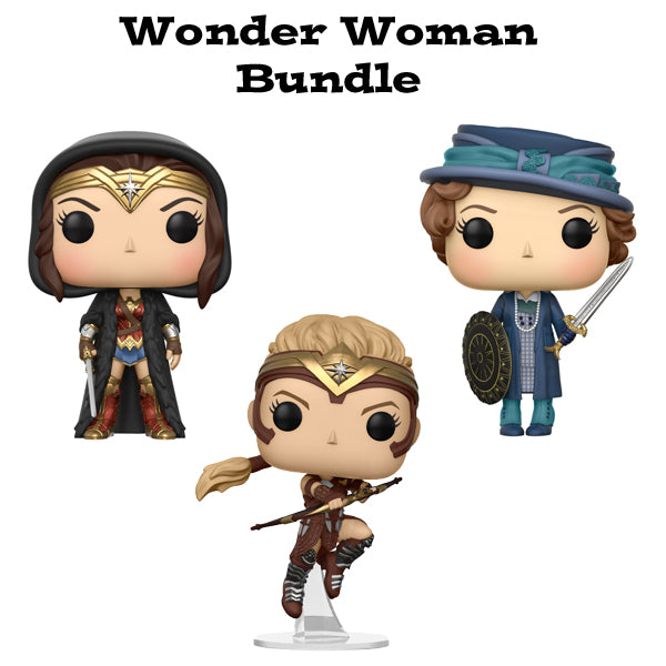 Wonder Woman Funko Pop! Movies Bundle Wave 2