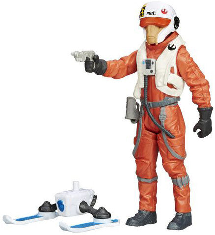 X-Wing Pilot Asty Star Wars Force Awakens Snow Figure