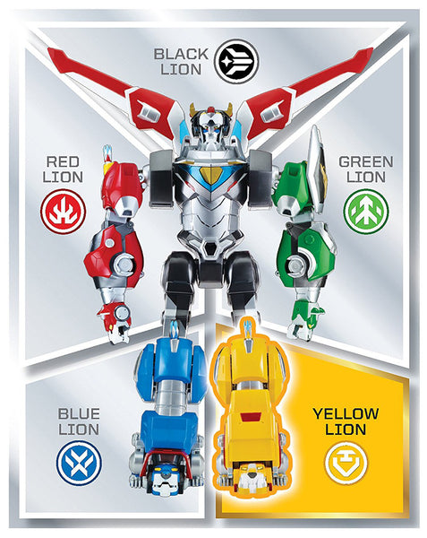 Yellow Lion Voltron The Legendary Defender Figure