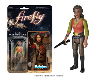 Zoe Washburne Firefly Funko ReAction Figure
