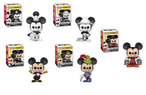Mickey's 90th Anniversary Funko Pop! Disney Bundle