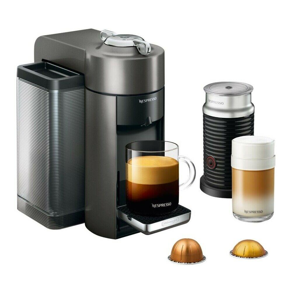 Brand New Nespresso Vertuo Coffee Maker and Espresso Machine with Aeroccino Milk ENV135TAE