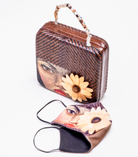 Load image into Gallery viewer, CUADRO handpainted bag. Pre-Order.
