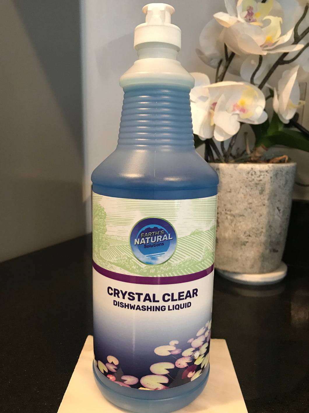 Crystal Clear Dishwashing Liquid