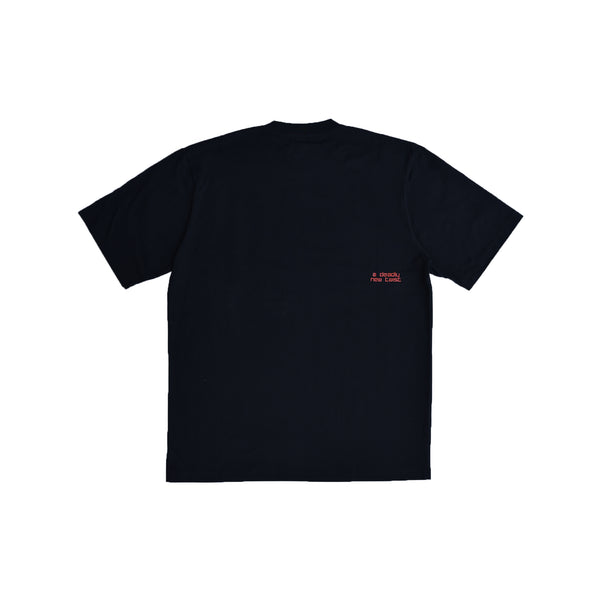 A New Twist Black Tee