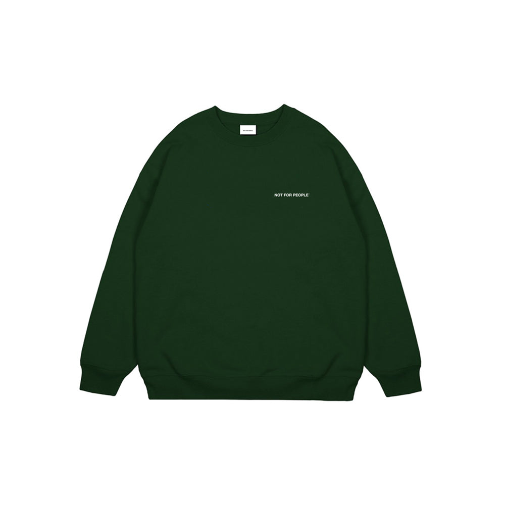 NFP Basic Green Crewneck