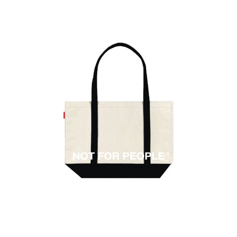 NOT FOR PEOPLE®  Logo Tote Bag