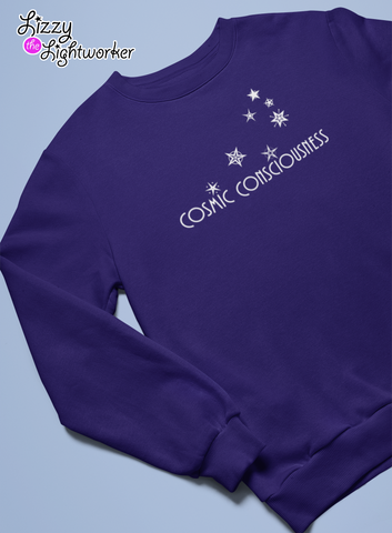 Cosmic Consciousness sweatshirt by Lizzy The Lightworker