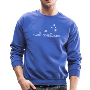 Cosmic Consciousness Men's Crewneck Sweatshirt - royal blue