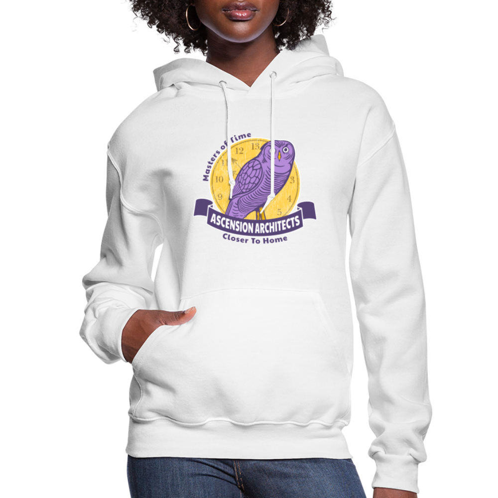 Ascension Architects Women's Hoodie - white