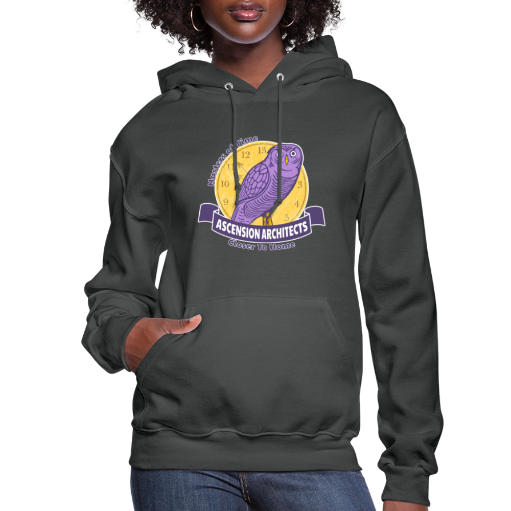 Ascension Architects Women's Hoodie - asphalt