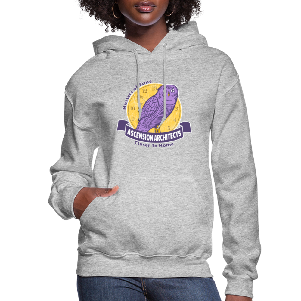 Ascension Architects Women's Hoodie - heather gray