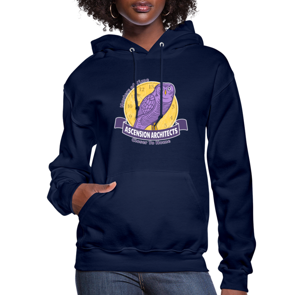 Ascension Architects Women's Hoodie - navy