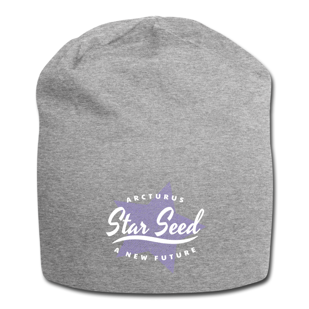 Arcturus Star Seed Jersey Beanie - heather gray