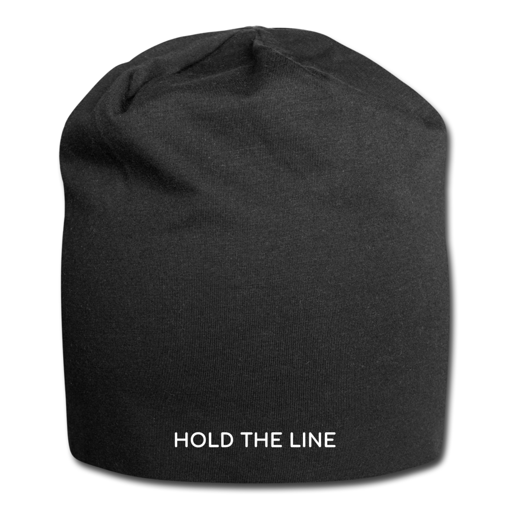 Hold The Line Jersey Beanie - black