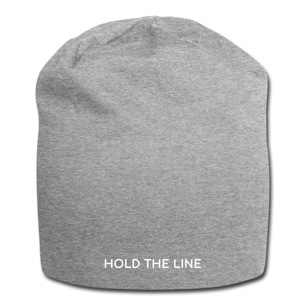 Hold The Line Jersey Beanie - heather gray