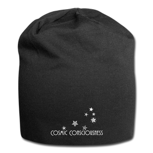 Cosmic Consciousness Jersey Beanie - black