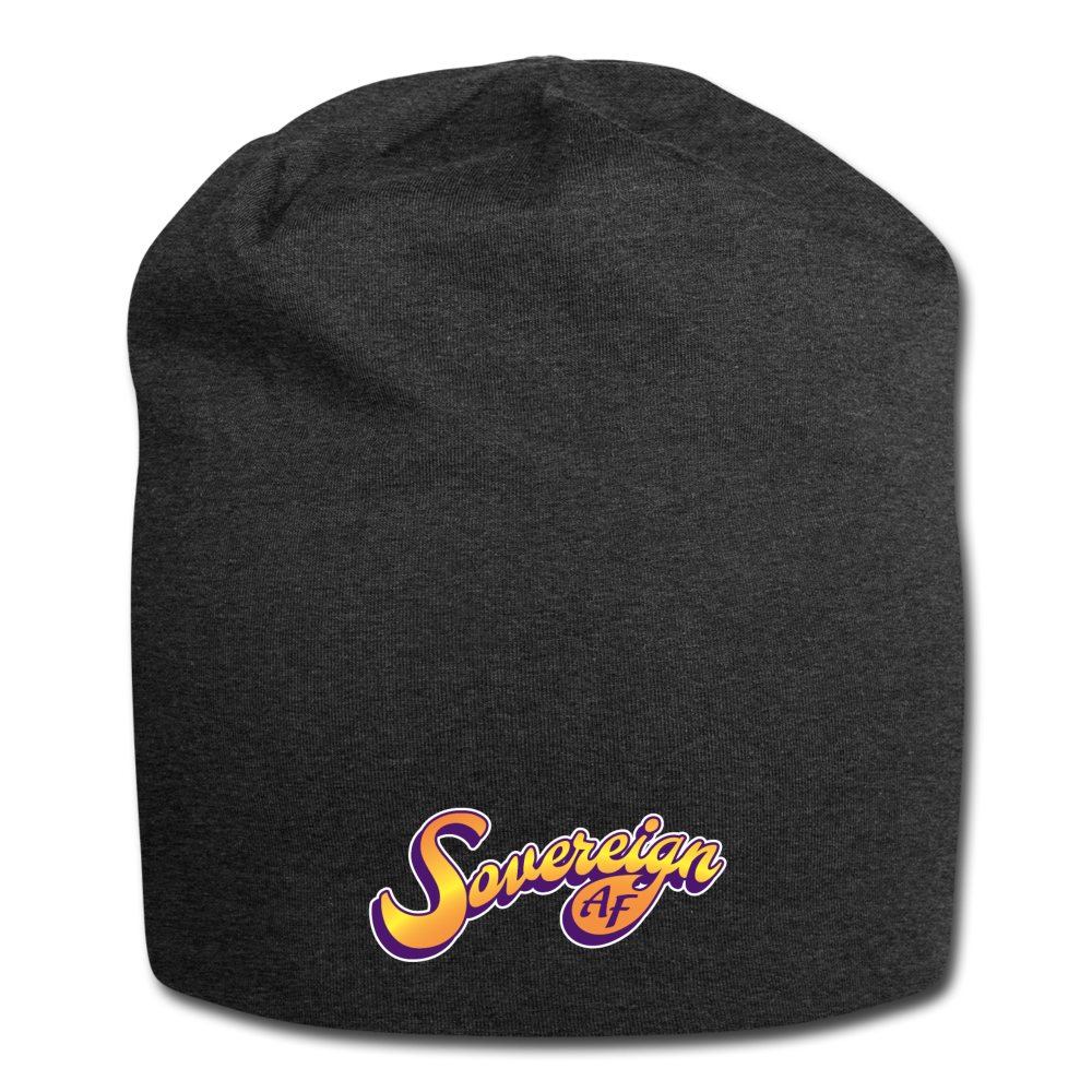 Sovereign AF Jersey Beanie - charcoal gray