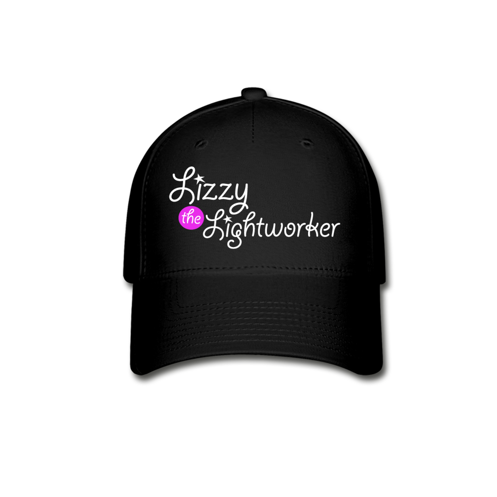 Lizzy The Lightworker Baseball Cap - black