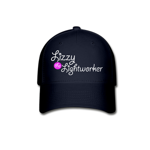 Open image in slideshow, Lizzy The Lightworker Baseball Cap - navy