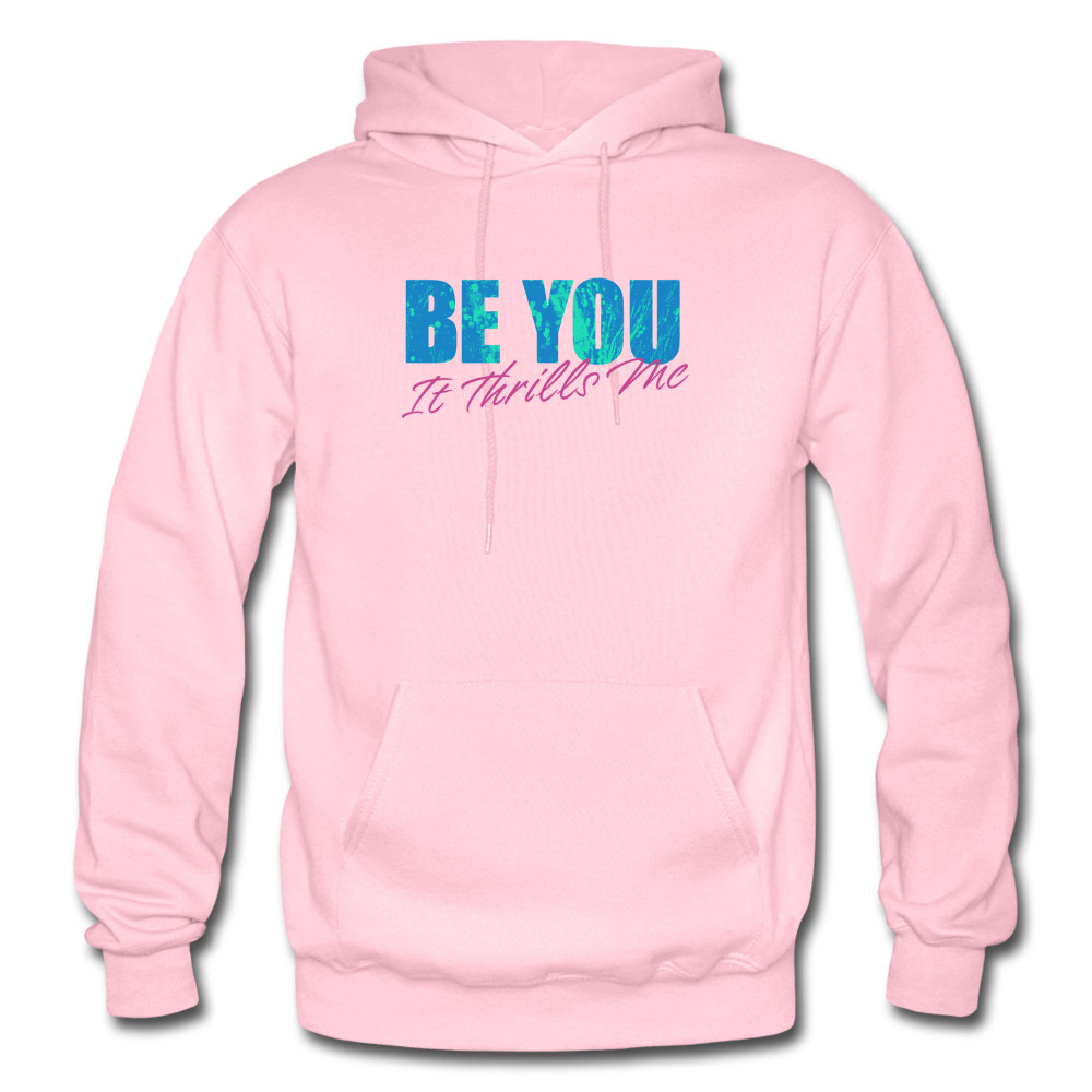 Be You Gildan Heavy Blend Men's Hoodie - light pink