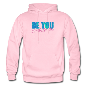 Open image in slideshow, Be You Gildan Heavy Blend Men's Hoodie - light pink