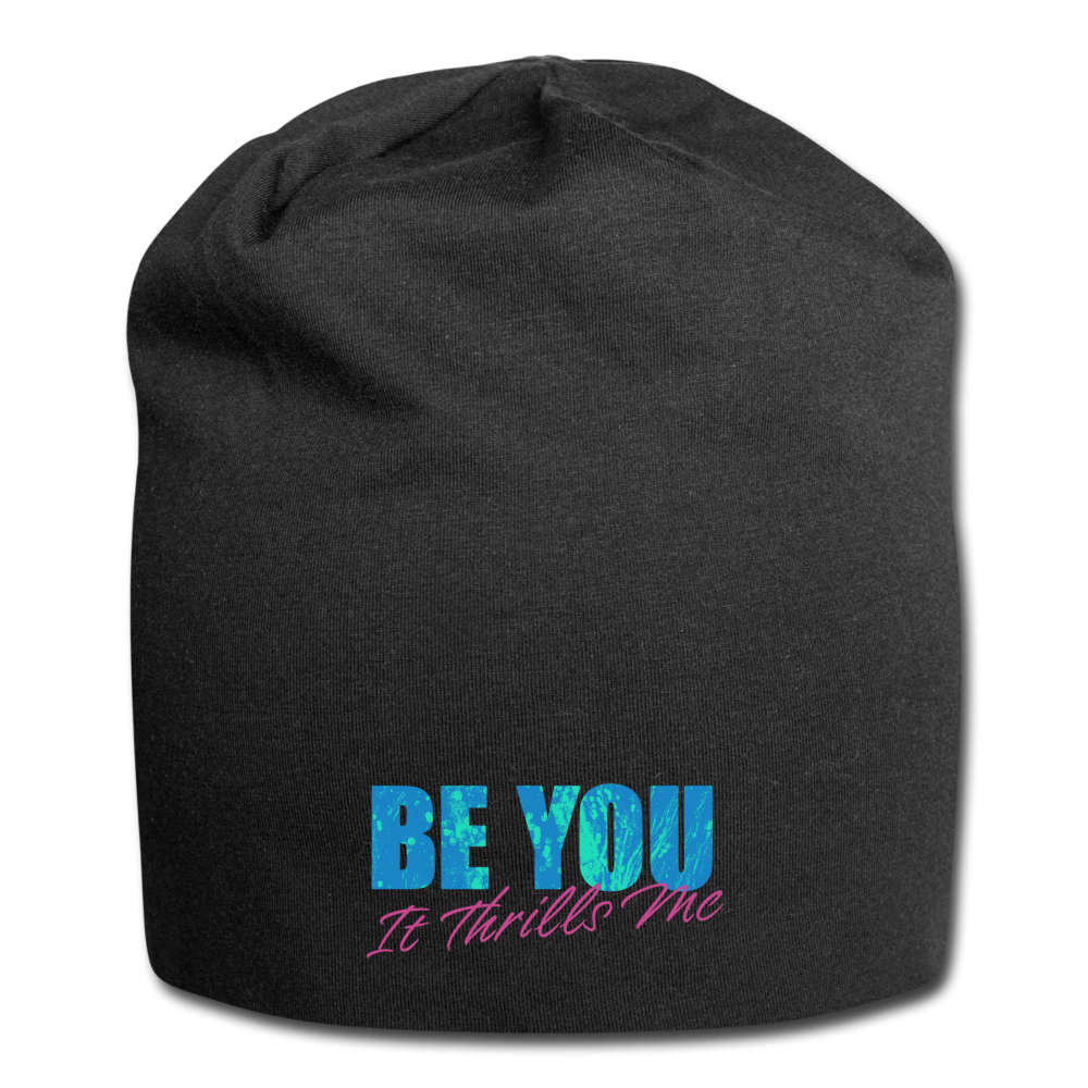 Be You Jersey Beanie - black