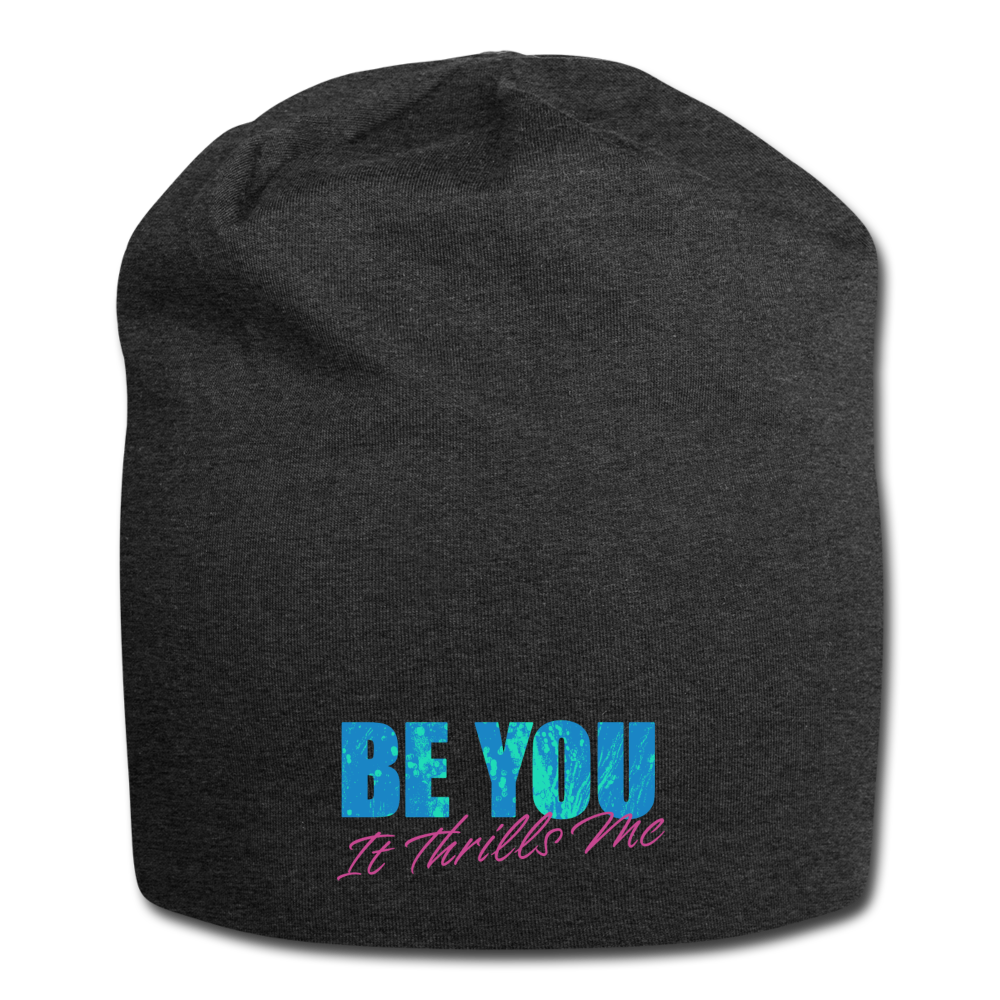 Be You Jersey Beanie - charcoal gray