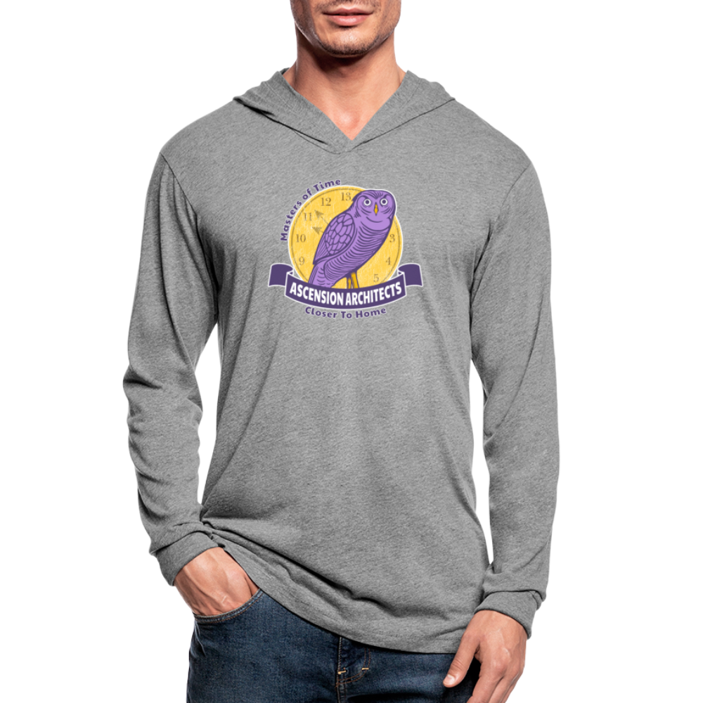 Ascension Architects Unisex Tri-Blend Hoodie Shirt - heather gray