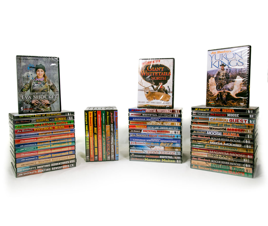 The Shockey Mega Collection - 49 DVD Box Set **OVER 62 HOURS OF CONTENT**