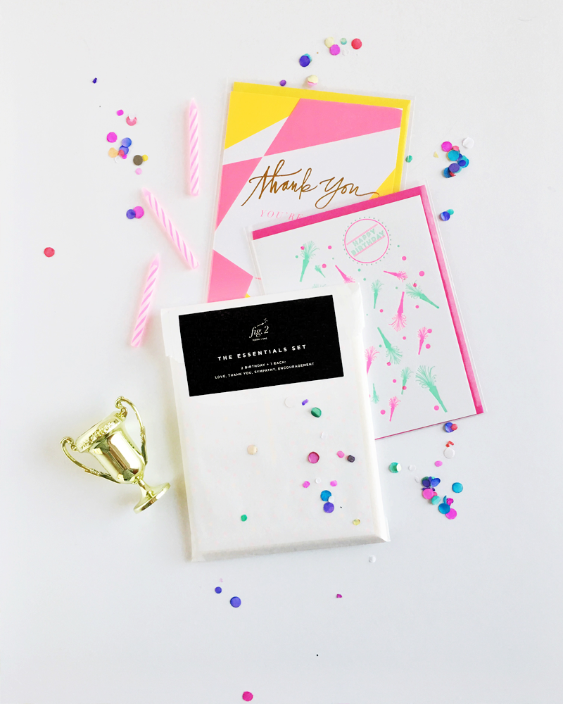 Emergency Greeting Card Set packs by Fig. 2 Design